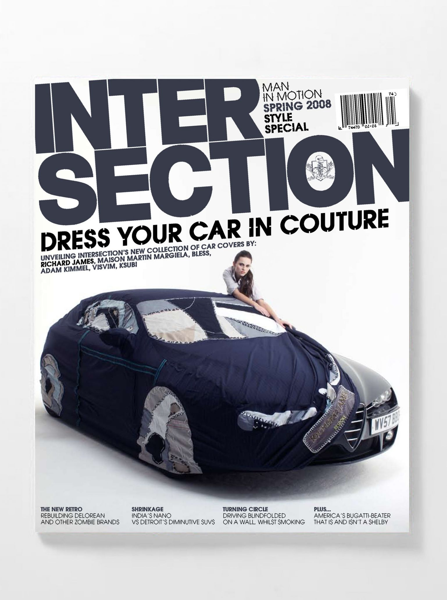 Yorgoco Car Covers Brera New Small Circle Blue Absolut Vodka